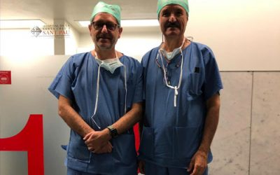El Dr. Glückmann Instructor Quirurgico en Barcelona