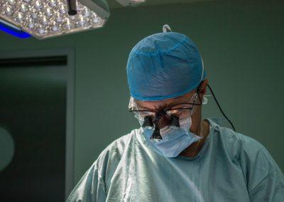 Gafas de microcirugía para cirugía tiroidea